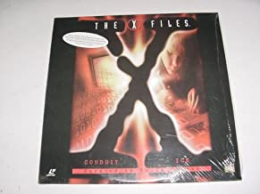 Laserdisc The X Files with 2 Uncut Episodes Conduit & Ice. By Chris Carter. David Duchovny & Gillian Anderson.