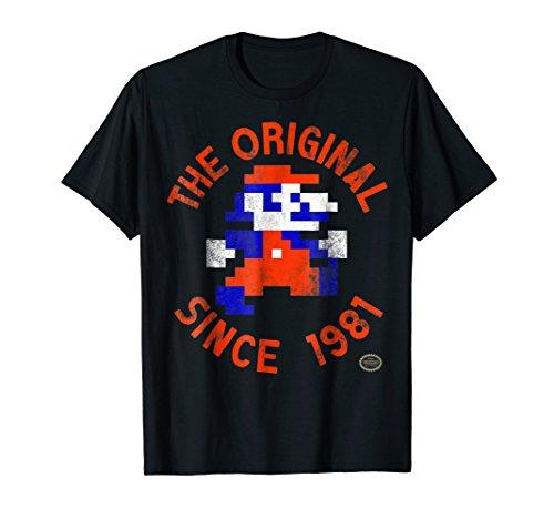 Nintendo Super Mario 8-Bit Original Since 81 Graphic T-Shirt