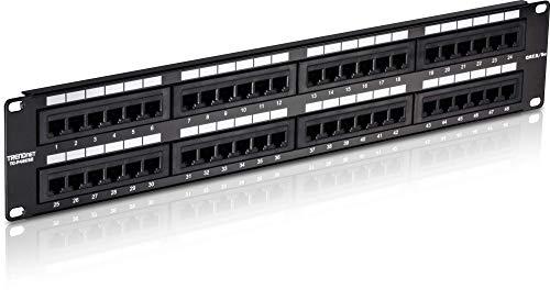 Trendnet TC-P08C5E niet-afgeschermde verbindingstafel Cat 5/5e 48-Port