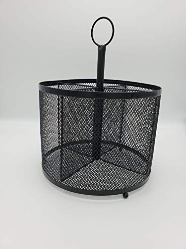 Wire Mesh Supply Caddies Black - Bullseye s Playground
