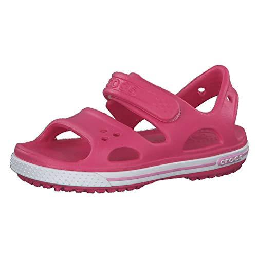 Crocs Crocband II Sandal P, Sandali Unisex - Bambini, Rosa (Electric Pink), 25/26 EU