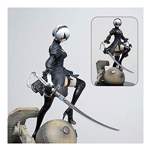 KSB-toy Junkrat Action Figur Anime NieR Automata 2B Yorha No.2 Typ B PVC Figur Spielzeug Anime Geschenk Dekoration