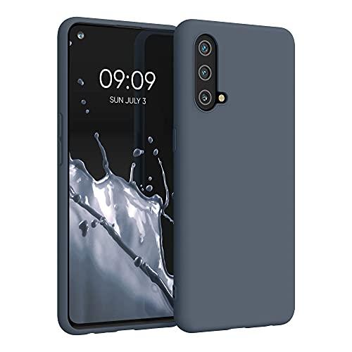 kwmobile Hülle kompatibel mit OnePlus Nord CE 5G - Hülle Silikon - Soft Handyhülle - Handy Hülle in Slate Gray