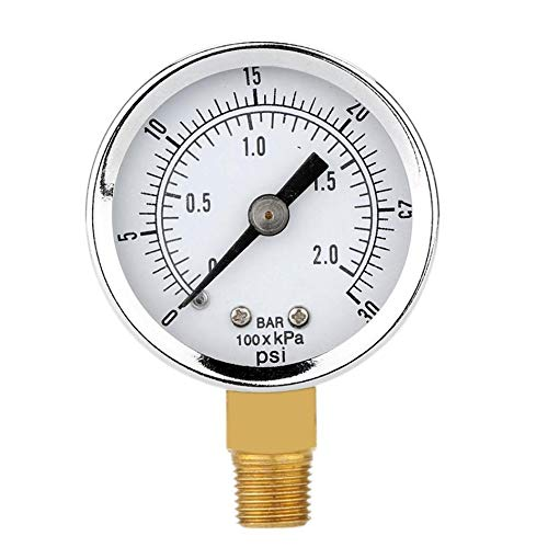 Why Choose HNIWDJ 0-30psi 0-2bar 40MM Diameters Pressure Gauge Fuel Air Compressor Meter Pressure Te...