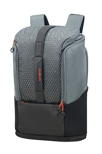 SAMSONITE Hexa-Packs - Laptop Backpack Medium Expandable - Sport Rucksack, 49 cm, 26 Liter, Grey Print
