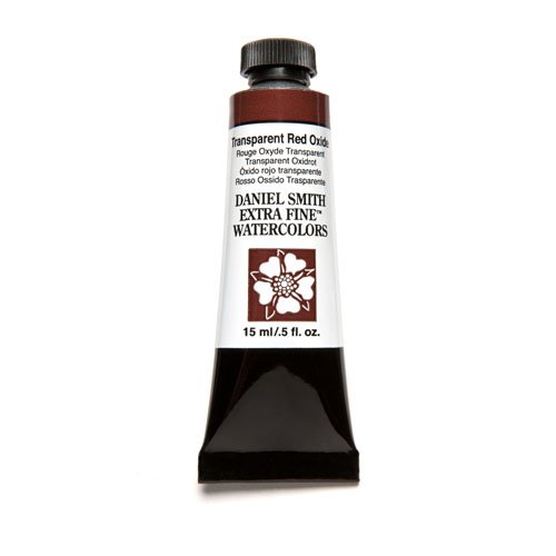 Daniel Smith 284600130 Extra Fine Watercolor 15ml Paint Tube, Transparent Red Oxide