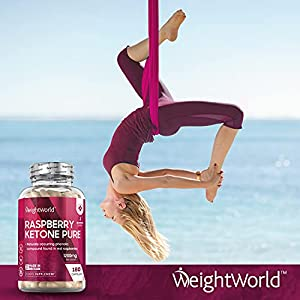 Raspberry Ketone Pure Pills - 1200mg Max Strength Serving Ketones Tablets for Weight Loss, Natural Cleanse & Fat Management - 90 Vegan Pure Raspberry Capsules for Slimming Diet - by MaxMedix