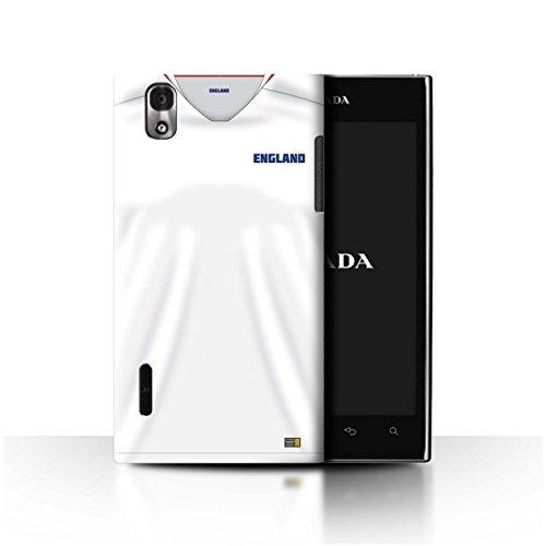 Stuff4® Phone Case/Cover/Skin/LGFL-CC/World Cup 2018 Football Shirt Collection LG Prada 3.0/K2/P940 Engels/Engels.