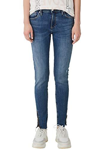 Q/S designed by - s.Oliver Damen 2004799 Jeans, Blue Denim Havy Stoned 57z6, 38