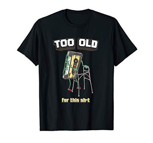 90er Jahre Kassette Tshirt I Dinge der Vergangenheit Shirt