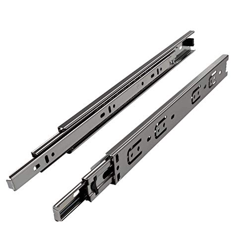 SOTECH 1 Paar (2 Stück) Vollauszüge KV2-35-H45-L500-NF Höhe 45 / Länge 500 mm/Kugelführungen mit Tragkraft 40 Kg