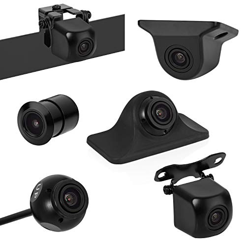 BOYO VISION BOYO VTK501HD - Universal HD Backup Camera with Multiple Mounting Options (6-in-1 Camera System)