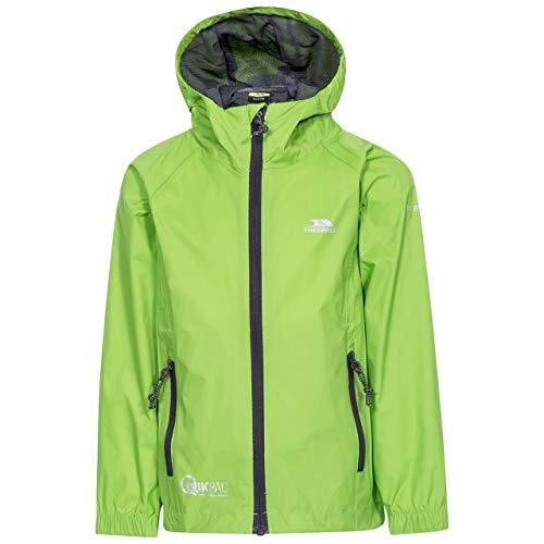 QIKPAC JACKET FOR KIDS Unisex Kid's Waterproof Jacket LEAF 7/8