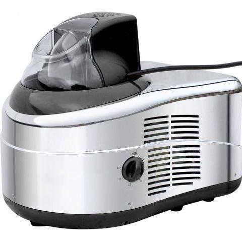 7in1 IC-270W Edelstahl Eismaschine mit Kompressor-Frozen Yogurt-Milchshake Maschine-Flaschenkühler Gino Gelati
