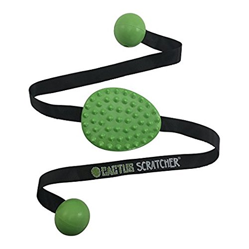 Original Cactus Back Scratcher (Green) | 2 Sides: Aggressive and Moderate | Perfect Travel Back...