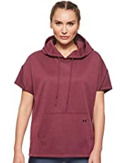 Under Armour Double Knit Ss Hooded Tunic