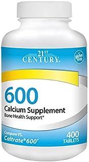 21st Century Calcium Supplement, 600 mg, 400 Count