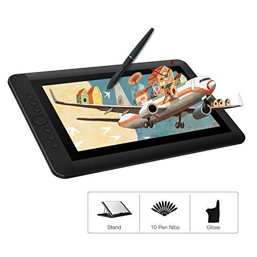Artisul D13S 13,3 Zoll Grafiktabletts Drawing Pen Tablet 1920 X 1080 HD Grafikmonitor mit 6 Tastenkombinationen und einem Ständer, leicht für unterwegs und zu Hause
