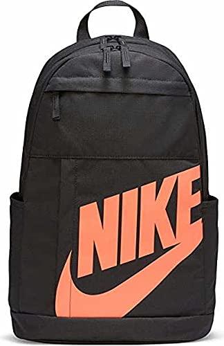 NIKE BA5876 Mochila de Tiempo libre y sportwear Unisex Adulto, dk smoke grey/dk smoke grey/bright mango