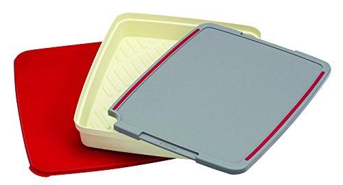 Taylor Precision Products 819GW Grill Prep & Serve Set, Grey