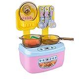 Tastak Electrodomésticos de simulación Niños Fingiendo Cocina Fingiendo Cocinar Juguetes Juguetes de Cocina Juego de Utensilios de Cocina de plástico Regalo