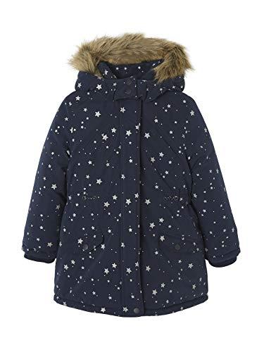 Vertbaudet Mädchen 3-in-1-Jacke Nachtblau Sterne 140