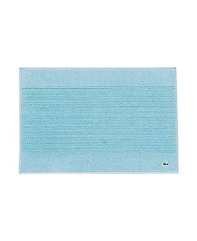 Lacoste Legend 100% Supima Cotton Towel 650 GSM 21  W x 31  L Bath Mat Celestial Blue