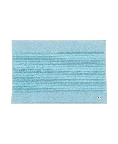 Lacoste Legend 100% Supima Cotton Towel, 650 GSM, 21' W x 31' L Bath Mat, Celestial Blue