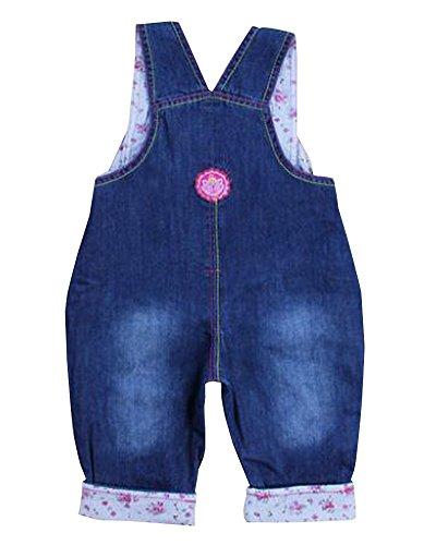 Belle enfant globale à la mode Jeans bébé globale Bleu
