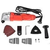 SISHUINIANHUA 720W 6 Variable Speed Sander Swing-Werkzeug-Set Schneidemaschine Multi-Purpose Oszillierende Polieren Fräswerkzeuge