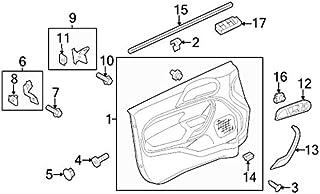 مفتاح فورد BE8Z-14529-BA - تحكم بالنافذة - مفرد