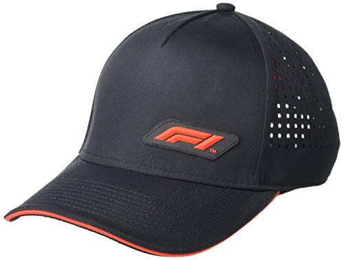 Unisex Formula 1 F1 Tech Collection Tech Baseball Cap, Black, One size