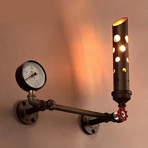 Wandlampen, wandlampen, wandlampen, wandlampen, industrielamp, retro met open haard, wandlamp voor eetkamer, speelkamer, woonkamer