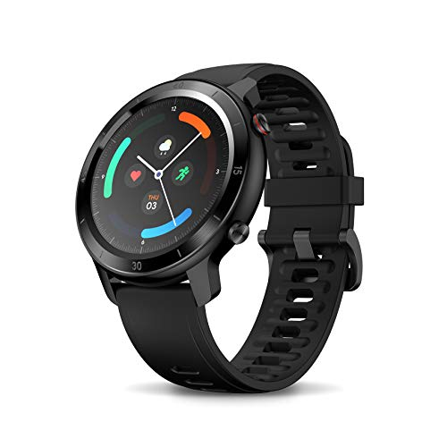 TicWatch GTX Fitness Smartwatch, Up to 10 Days Battery Life, Heart Rate Monitoring, Sleep Tracking, IP68 Swimming Waterproof, compatitable for Android and iPhone Phones