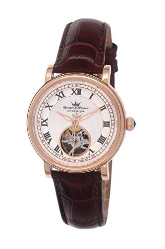 Yonger & Bresson Damen Analog Automatik Uhr YBD 8524-04