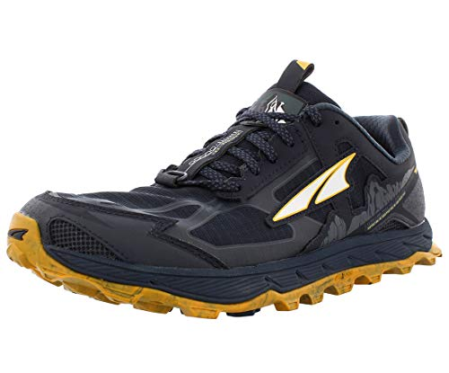 ALTRA Men's AL0A4PE5 Lone Peak 4.5 Trail Running Shoe, Carbon - 9 M US