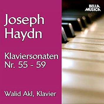 Haydn: Klaviersonaten No. 55 - 59