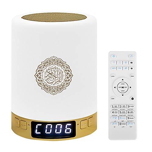 Huante Coran Musulman - Reloj de pulsera portátil inteligente MP3 If Reproductor APP Contrre Noche Noche Regalos de Ramadán