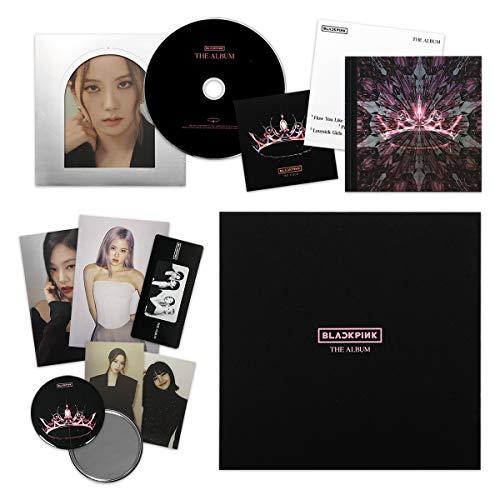 THE ALBUM [ VERSION #1 ] - BLACKPINK 1st Full Album CD + Photobook + PostCard Set +...