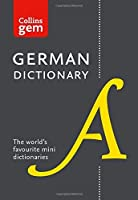 Collins Gem German Dictionary by Collins Dictionaries(2016-10-01)