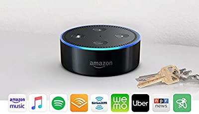 Echo Dot (2nd Generation) - Smart speaker with Alexa - Black by Amazon