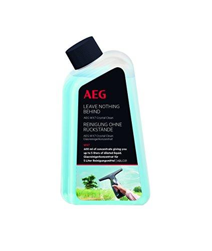 AEG ABLC01 Glasreiniger-Konzentrat für Fensterreiniger WX7 (400ml Konzentrat für 20 Anwendungen, keine Schlieren und Rückstände, streifenfrei, optimale Reinigungsleistung)