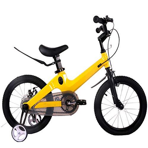 YARUMD FOOD Ciclismo12 14' 16' 18' Bici Bambini,Lega Magnesio Bici Bambini,Posteriori A Disco Freni...