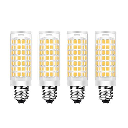 SHKUU Bombilla luz maíz LED 10w 2835 SMD Regulable Bombilla Equivalente 100w 1000lm Bombillas candelabro candelabro Decorativo LED Blanco cálido