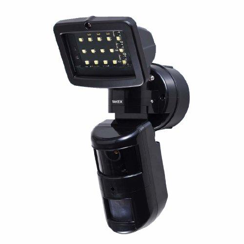 センサーLEDライト付きカメラ(屋外・屋内共用) PVL-672 竹中エンジニアリング