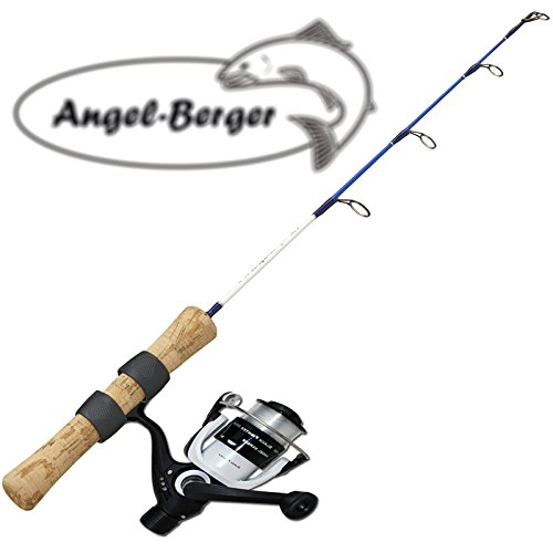 Angel-Berger EIS und Bootsangelset mit Rolle