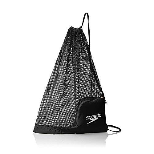 Speedo Unisex-Adult Ventilator Mesh Equipment Bag, Speedo Black