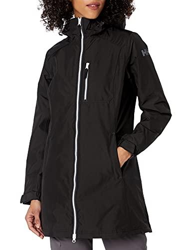Helly Hansen Damen Damen Jacke Long Belfast Winter Jacke, Black, 4XL, 62395
