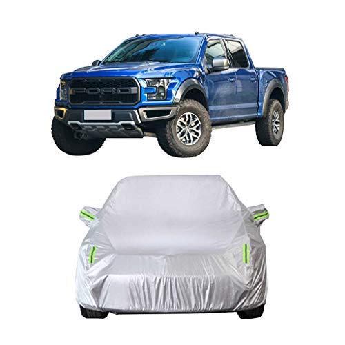 Couverture de voiture Compatible avec Ford F150 Car Cover Ramassage Oxford Spécial épais Tissu pluie Protection contre le soleil et chaud Antigel Car Cover