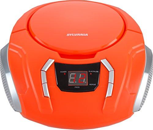Sylvania Boombox portátil de CD com rádio AM/FM